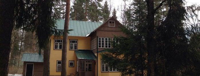 Дом-музей К.И. Чуковского is one of Maria'nın Kaydettiği Mekanlar.
