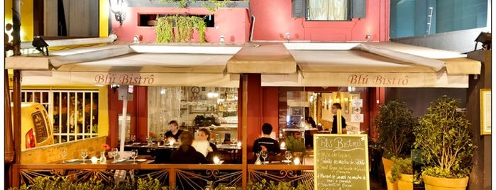Blú Bistro is one of French spots in SP.