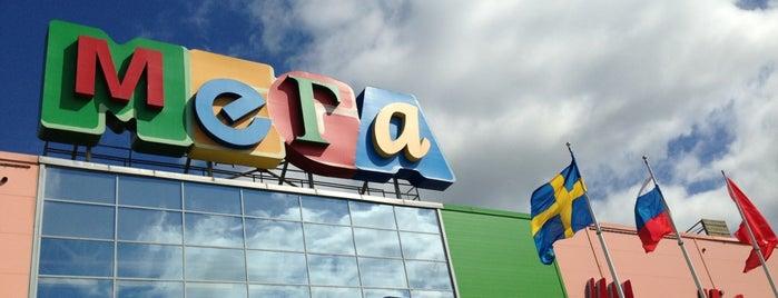 MEGA Mall is one of Top-20: Санкт-Петербург.