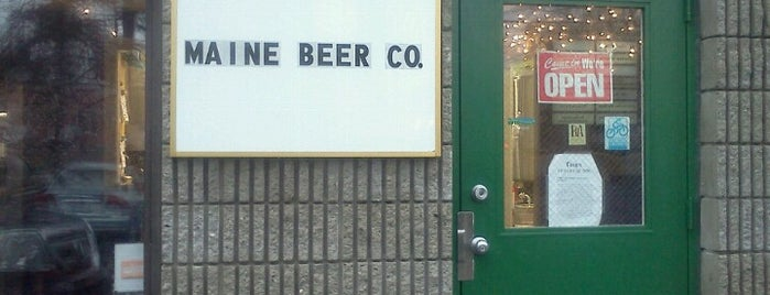 Maine Beer Co. is one of Breweries to Visit.