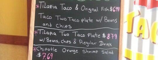Rubio's is one of Orte, die Chuck gefallen.