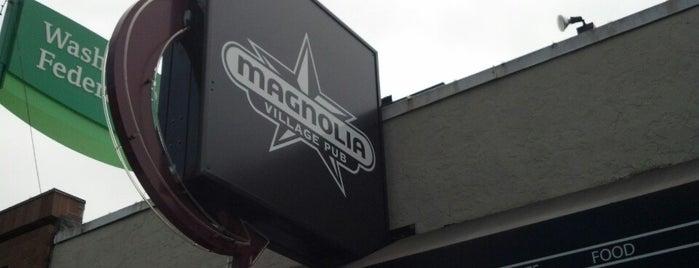 Magnolia Village Pub is one of Megan : понравившиеся места.