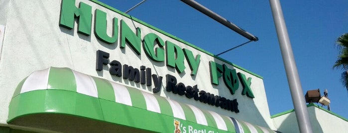 Hungry Fox is one of LA Food to try.