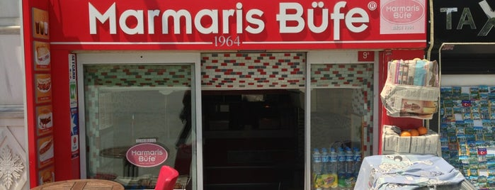 Marmaris Büfe is one of Istanbul'un 100 Lezzeti.