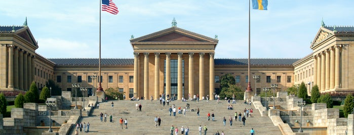 Philadelphia Museum of Art is one of Philly.