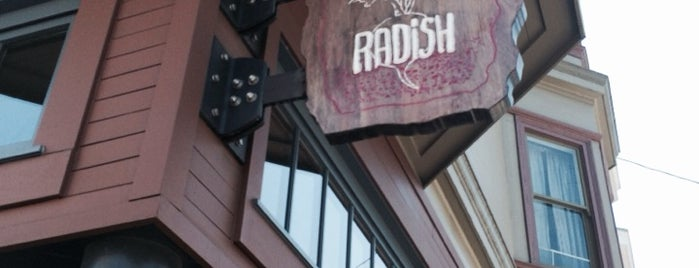 Radish is one of The San Franciscans: Mission.