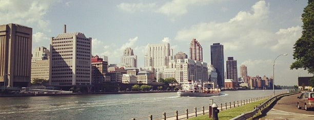 Roosevelt Island is one of New York.