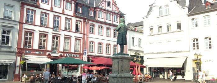 Jesuitenplatz is one of Coblenza.