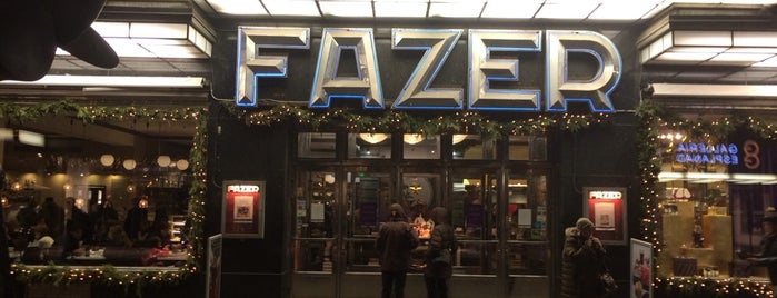 Fazer Café is one of Best restaurants & cafe's in Helsinki.