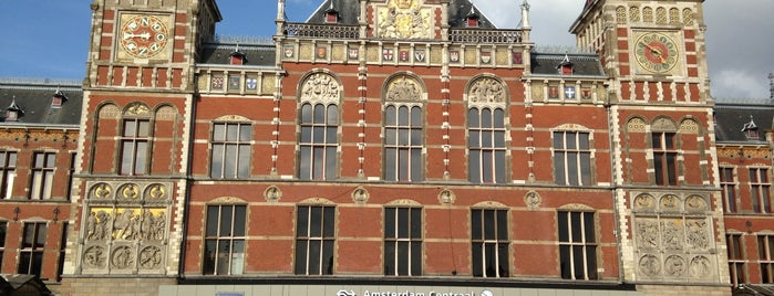 Stazione Amsterdam Centrale is one of The Netherlands.