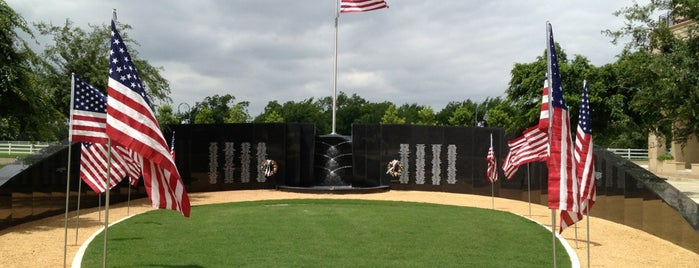 Veterans Memorial In Mckinney is one of Photog Peterさんのお気に入りスポット.