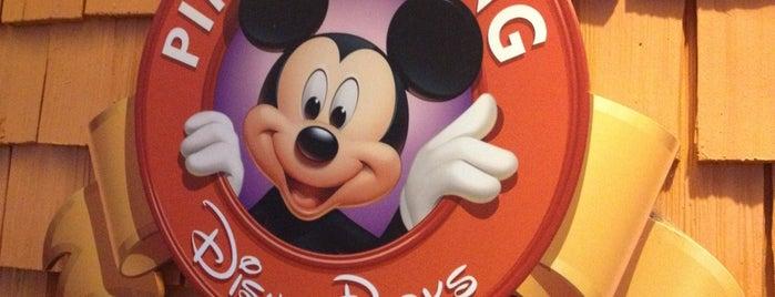 Disney's Pin Traders is one of Disney Springs.