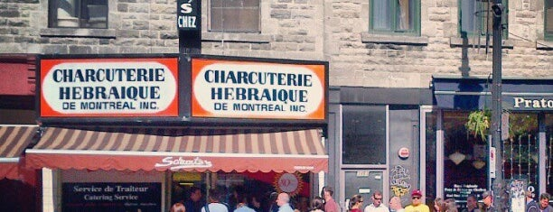 Schwartz's Montreal Hebrew Delicatessen is one of Canada.