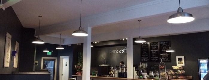 North Perk Coffee is one of Jen : понравившиеся места.