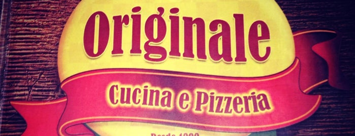 Originale Cucina e Pizzeria is one of Tempat yang Disukai Raphaël.