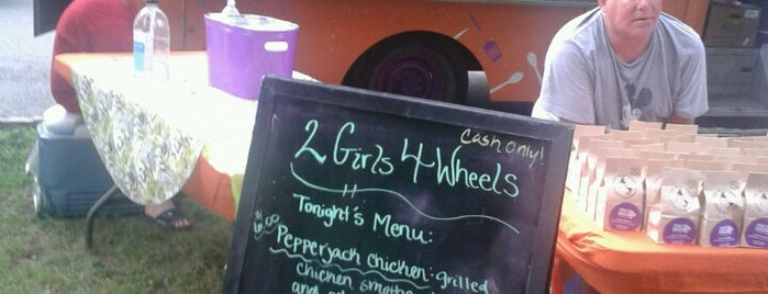 2 Girls 4 Wheels is one of St. Louis food trucks.