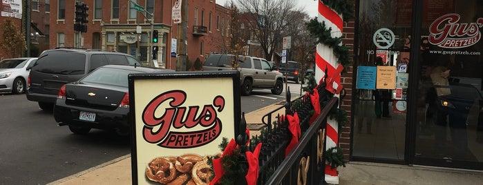 Gus' Pretzels is one of 2017 City Guide: Saint Louis.
