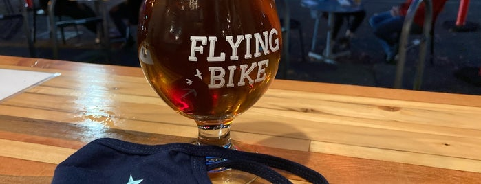 Flying Bike Cooperative Brewery is one of Seattle Brewpubs, Taprooms and Breweries.