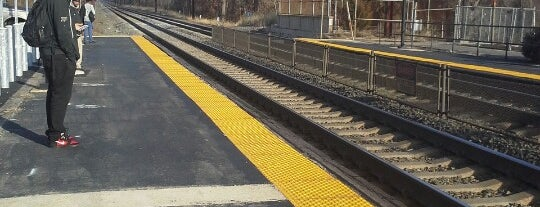 Edgewood MARC Station is one of Train Stations.