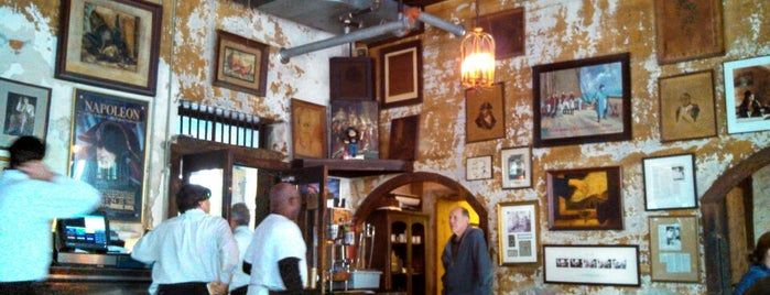 Napoleon House is one of New Orleans.