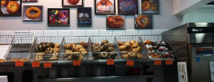 The Bagel Store is one of NYC.