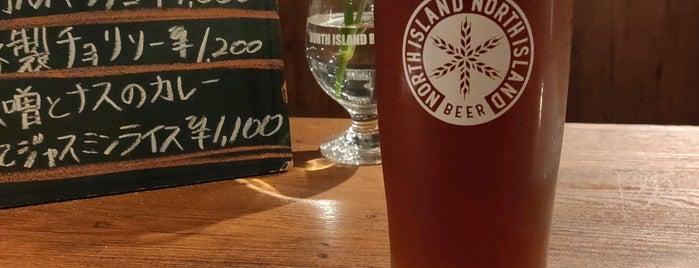Beer Bar NORTH ISLAND is one of petitcurry : понравившиеся места.