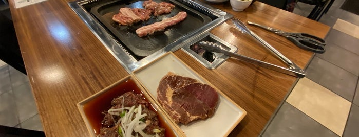 Gorilla Grill is one of NJ kbbq.