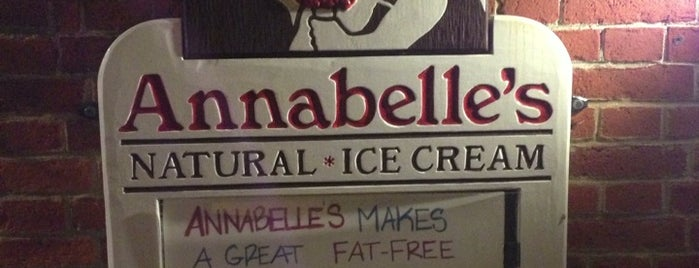 Annabelle's Ice Cream is one of New England To-Do's.