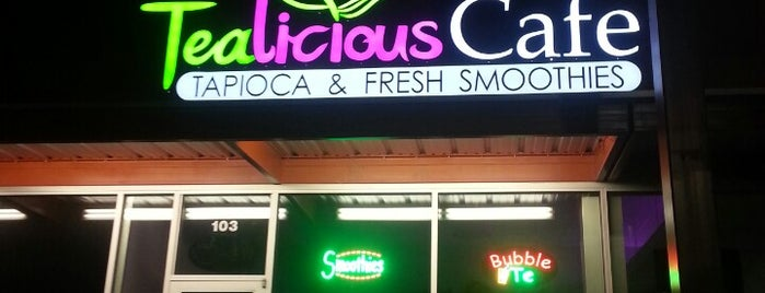 TeaLicious Cafe is one of To Do List.