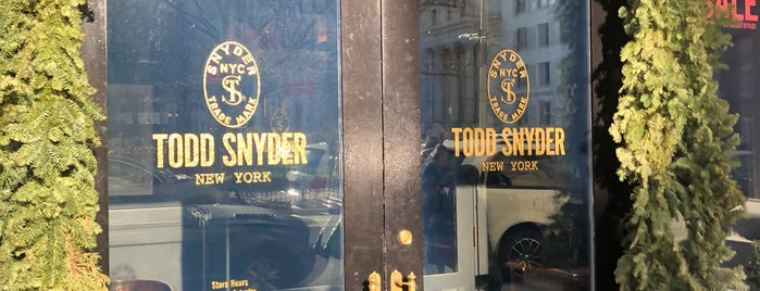 Todd Snyder is one of NYC Travel.