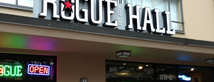 Rogue Hall is one of Portland.