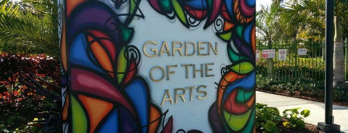 Garden Of The Arts is one of Planes Miami.