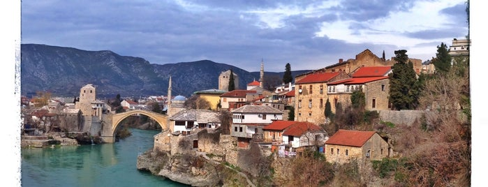 Mostar is one of Bosnia.