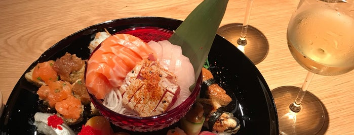 Unique Sushi Lab is one of Hiroshiさんのお気に入りスポット.
