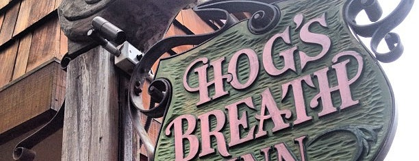 Hog's Breath Inn is one of Locais curtidos por Alan.