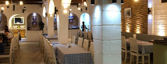 olive tree traditional greek restaurant is one of Места Самуи / samui places.