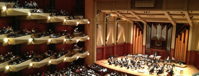 Benaroya Hall is one of 2017 City Guide: Seattle.