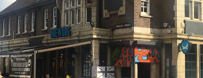 BrewDog Oxford is one of Orte, die Carl gefallen.