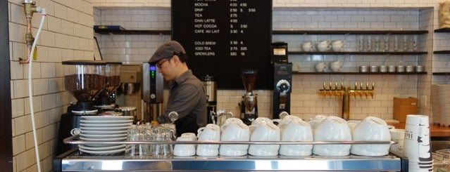 Birch Coffee is one of Everything G in #NYC.