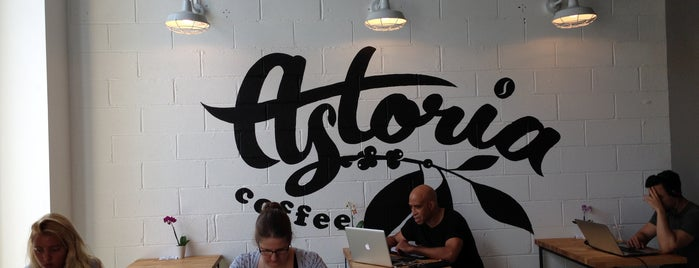 Astoria Coffee is one of NYC: Newest Indie Cafes and Coffee Shops.