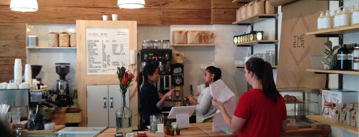 The ELK is one of NYC: Newest Indie Cafes and Coffee Shops.