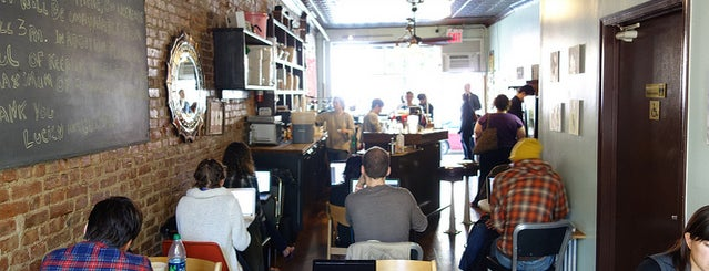 Sit & Wonder is one of The Best Coffee Shop In 30 NYC Neighborhoods.