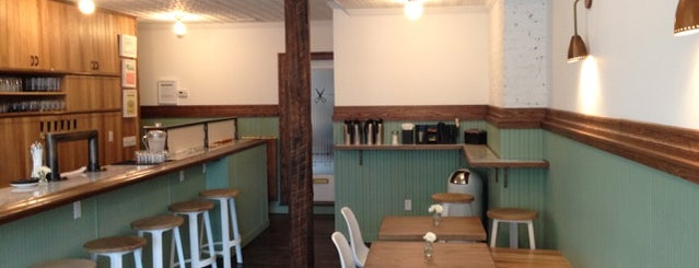 Blind Barber is one of NYC: Newest Indie Cafes and Coffee Shops.