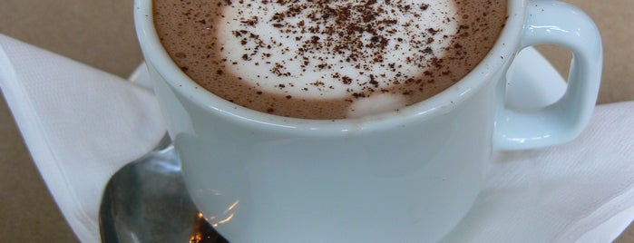 L.A. Burdick Chocolate is one of NYC: Best Hot Chocolate.