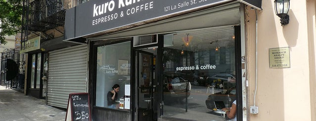 Kuro Kuma is one of Notable Coffee Shops (NYC).