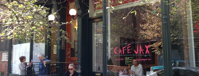 Cafe Jax is one of NYC: Best Manhattan Wifi Cafes/Coffee Shops.