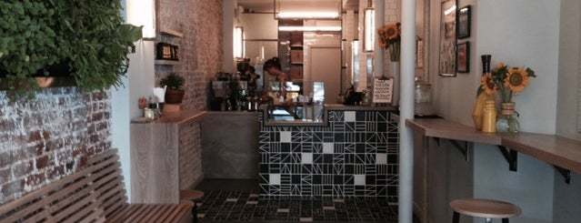 Rosella Coffee Shop is one of NYC: Newest Indie Cafes and Coffee Shops.