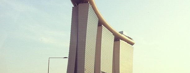 Marina Bay Sands Hotel is one of To-Do in Singapore.