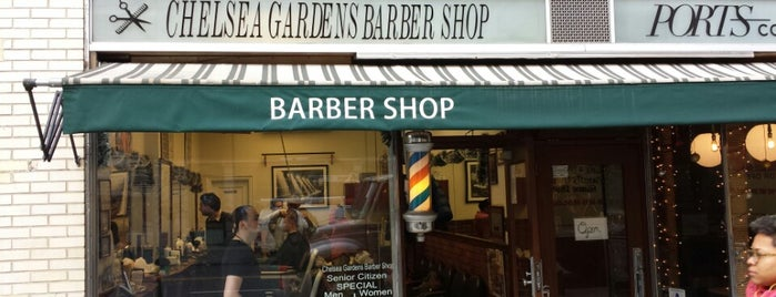 Chelsea Gardens Barber Shop is one of Lugares favoritos de Michael.