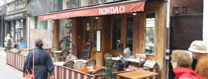 Cafe Ronda is one of UWS.
